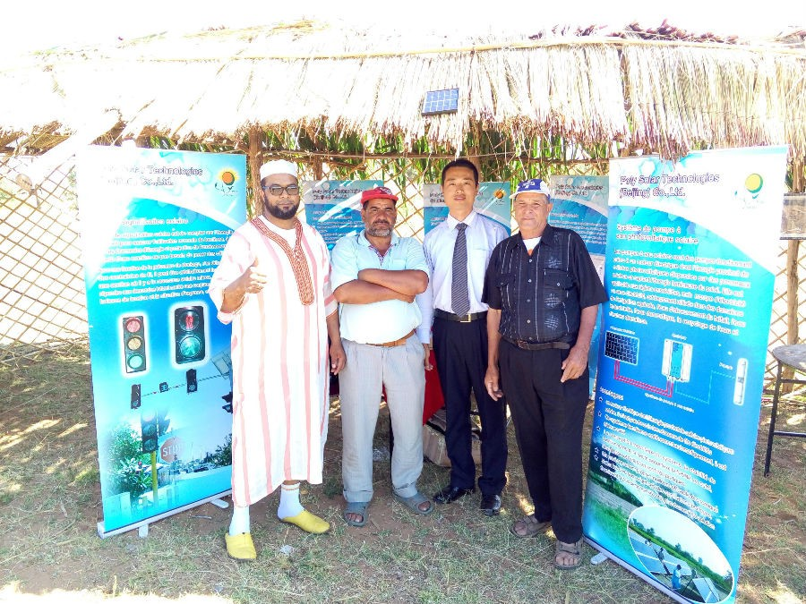 Morocco water pump project completed successfully