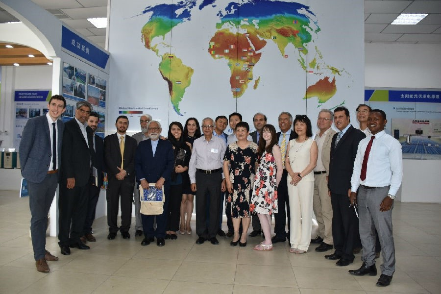 Members of the Afghanistan Reconstruction Forum visit our company