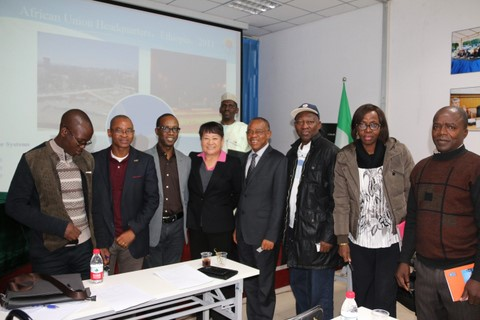 Warmly celebrate the Nigerian delegation to visit our company
